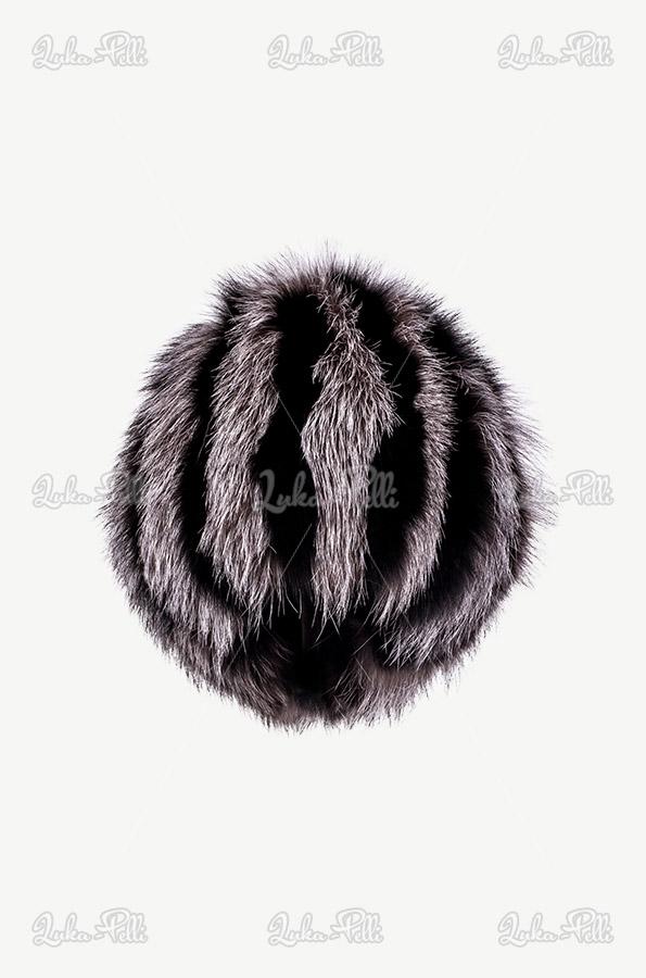 czapka futrzana lis