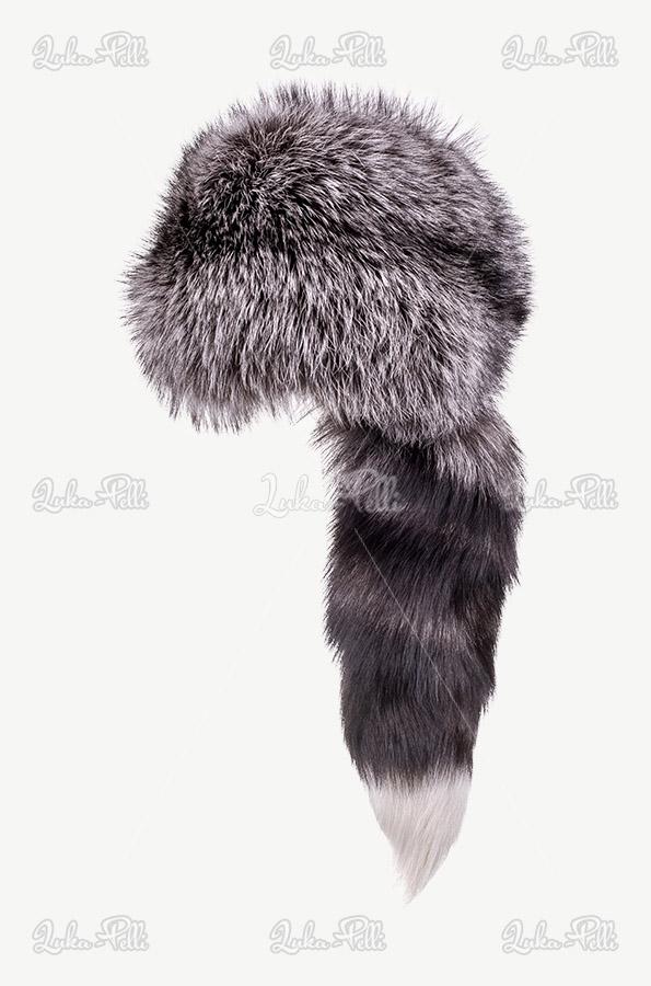 toczek futrzany lis srebro