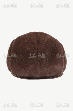 czapka męska skórzana kaszkiet