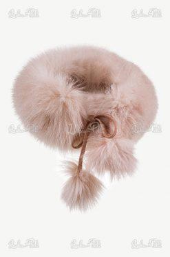 opaska futerkowa lis