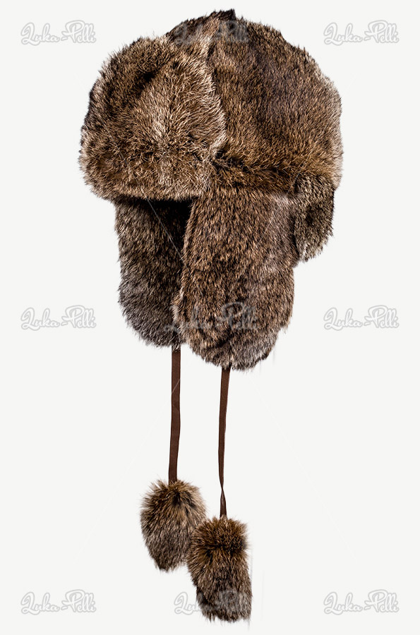 czapka futrzana królik