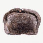czapka zimowa futro naturalne królik papacha futrzana
