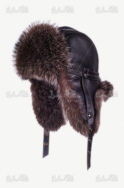 czapka futrzana męska