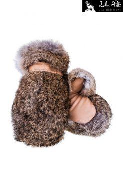 Rękawiczki futrzane