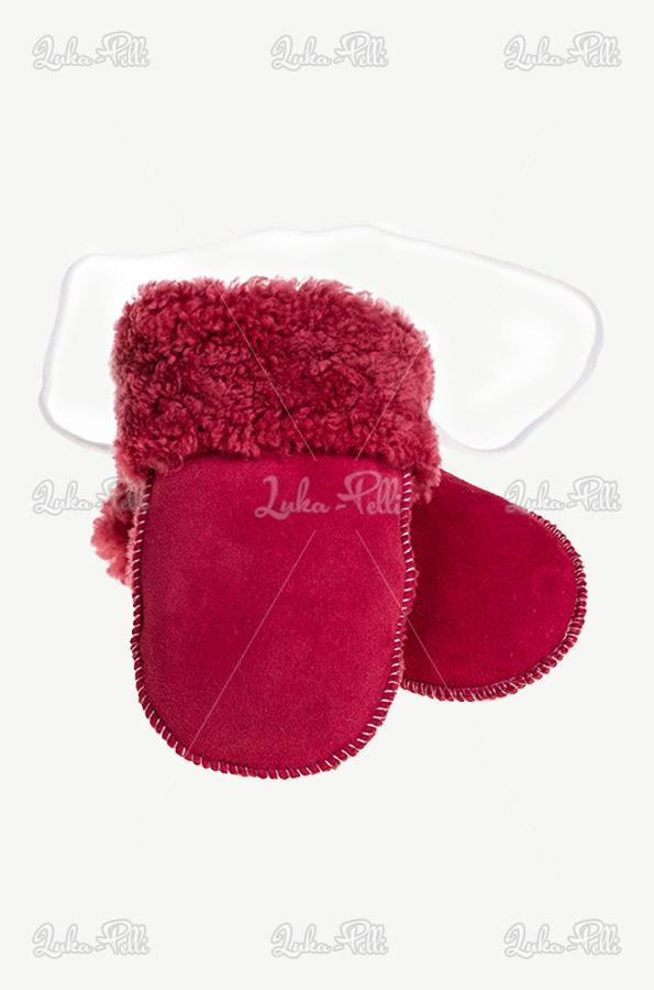 rękawiczki różowe