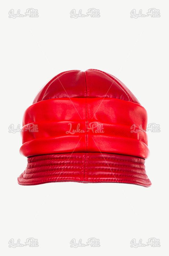 kapelusz czerwony