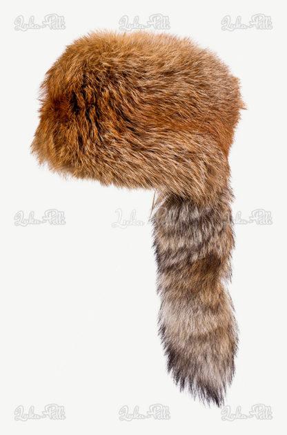 czapka rudy lis traperka