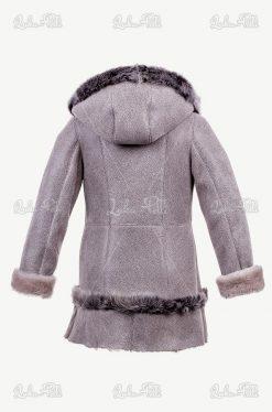 kożuszek dla dziewczynki płaszczyk