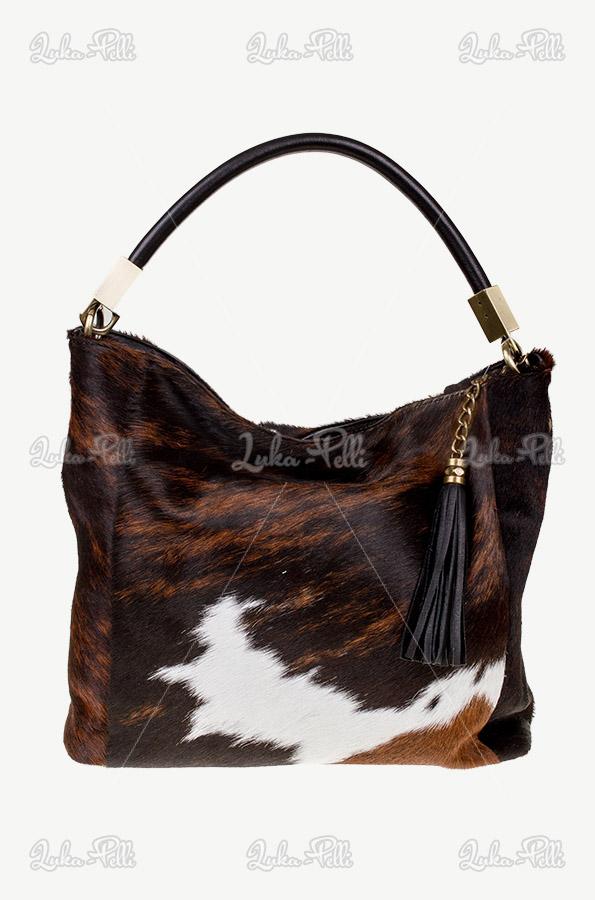 torebka skórzana krowa