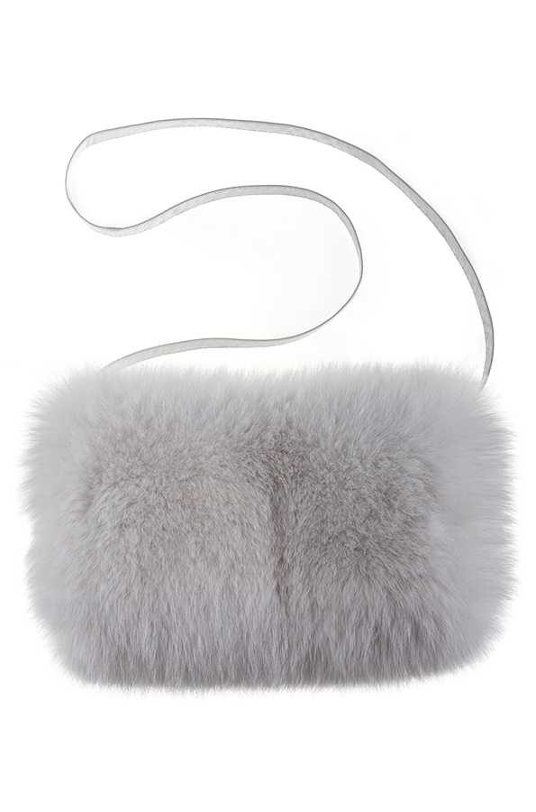 Mufko-torebka biała