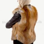 kamizelka damska rudy lis