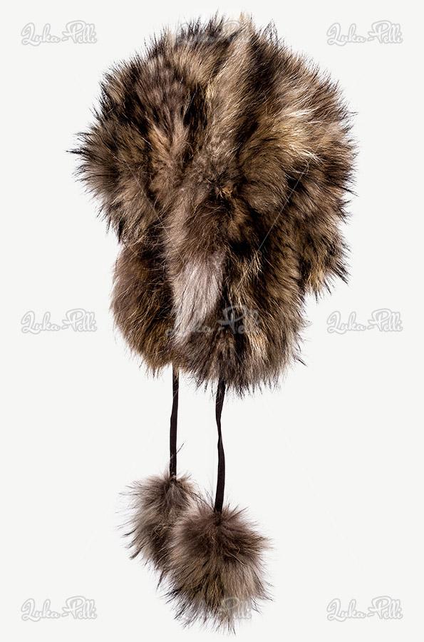 czapka zimowa futrzana