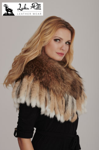 Women's fur collars