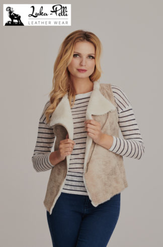 Women's leather waistcoats